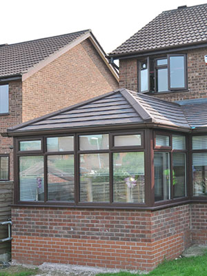 Brown Tiled Roof Conservatories