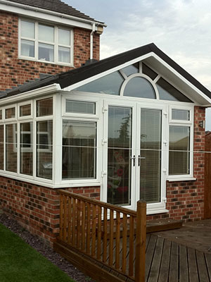 Gable Tiled Roof Conservatory