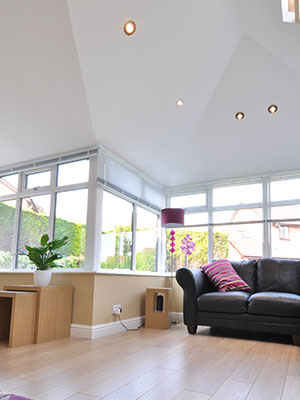 Interior Tiled Roof Conservatories