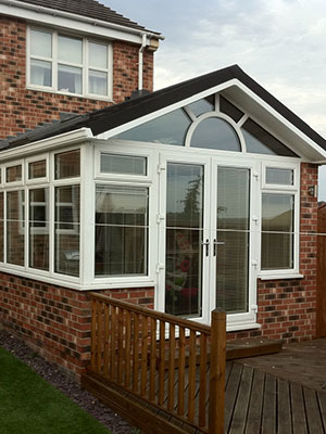 Tiled Gable Roof Conservatory