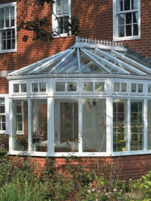 White Victorian Conservatory