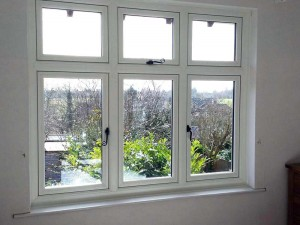 Casement Windows with Monkey Tail Handles