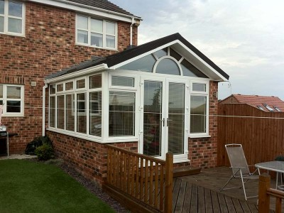 Gable Conservatory tiled roof