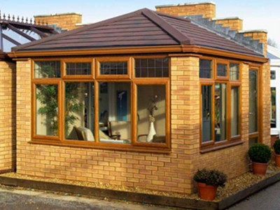 Orangery with Solid Tiled Roof