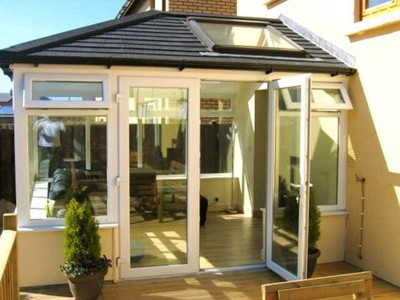 Orangery with Sold Tiled Roof