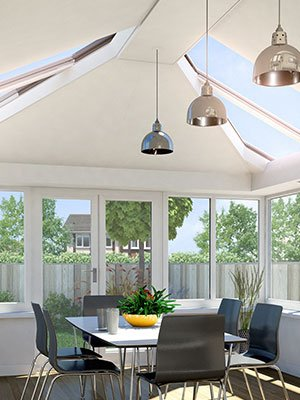 olid Glazed Conservatory Roofs