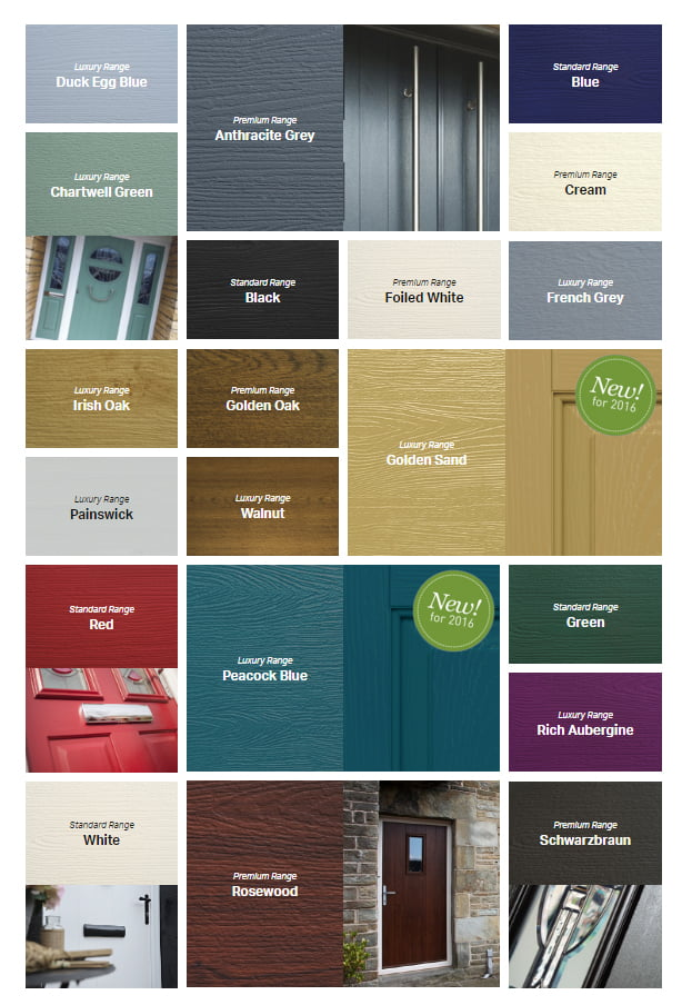 Solidor colours