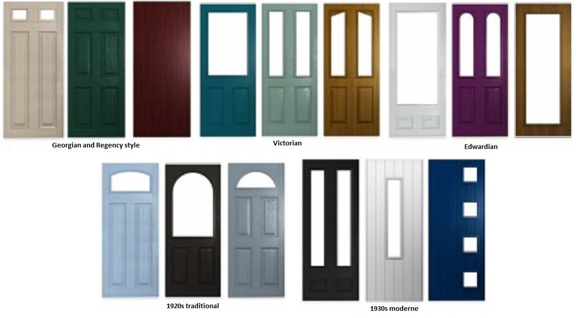 Stay classy with a traditional front door | Elitis