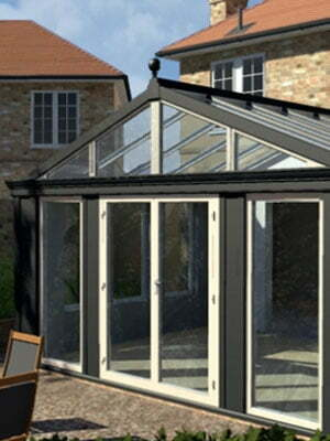Coloured Luxury Conservatories