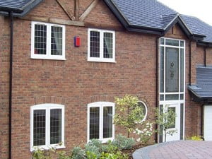 White Casement Windows