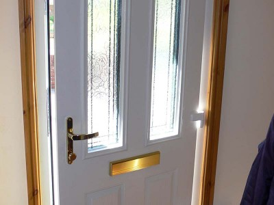 Composite Door Interior