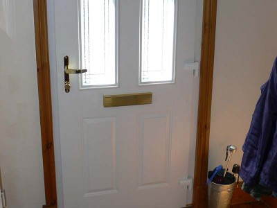 Composite Door White Oak