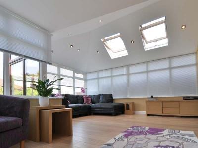 Conservatory roof Interior