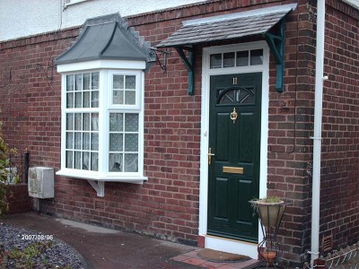 Dark Green Composite Entrance Door