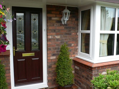 Dark Oak Composite Door