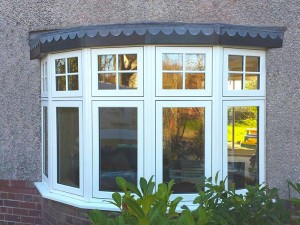 Flush Sash Bow Windows
