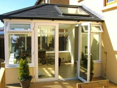 French Door Tiled Roof