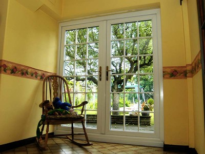French Patio Doors with Georgian Bars