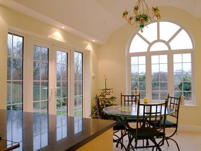 French Patio Doors in White