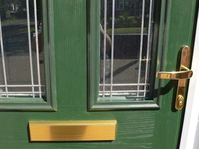 Green Composite Door Fittings