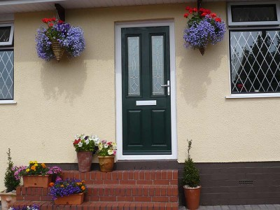 Green Composite Door Installations