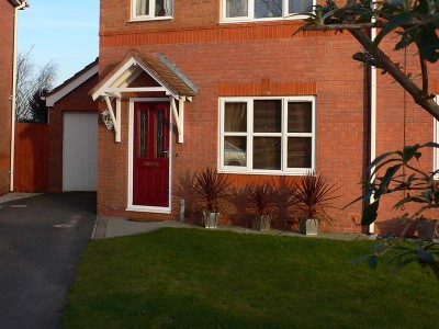 Red Composite Door Installation