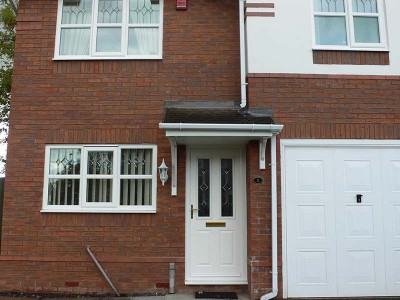 White Composite Door