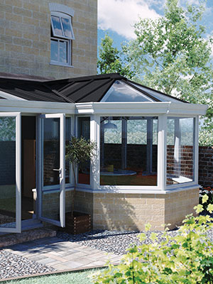 LivinRoof Solid Glazed Conservatory Roofs