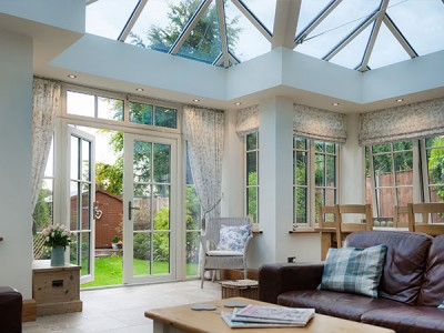Shaped Conservatory Interior