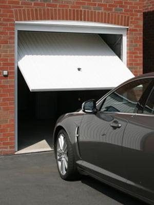White Garage Door